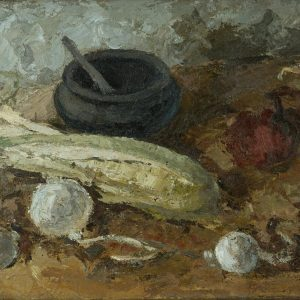 Still -life with corn